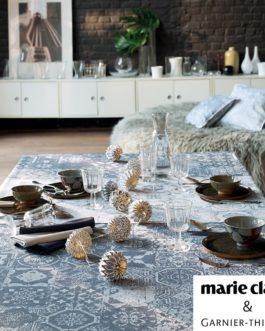 Nappe Mille Azulejos Bleu Garnier Thiebaut