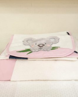 Ensemble de toilette Koala rose