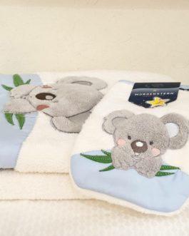 Ensemble de toilette Koala bleu