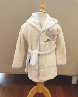 Peignoir de bain Koala bleu